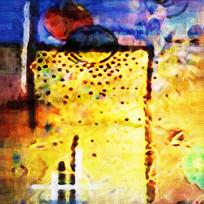 装饰抽象油画