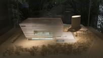 上海图书馆新馆模型