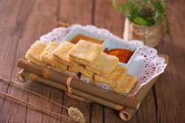 香煎石屏豆腐