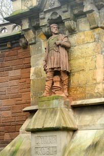 德国汉堡的历史人物塑像