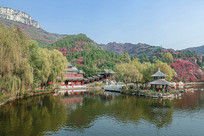 济南红叶谷观音阁