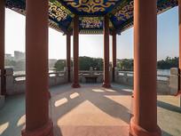 广角视角下的惠州西湖仲元亭