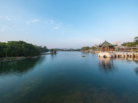 惠州西湖的风光