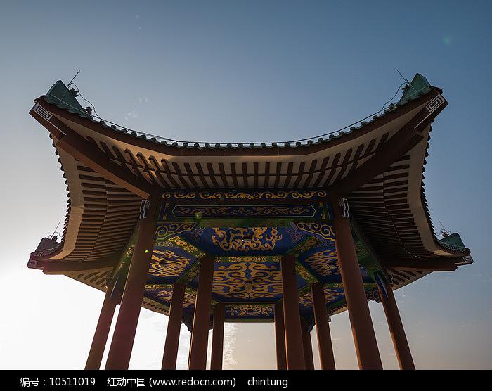 惠州西湖的仲元亭图片