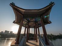 惠州西湖风景区的仲元亭