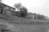 铜陵长江河岸的民国古村和悦村