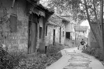 铜陵大通镇废弃的古村和悦村