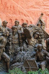 支前农民雕像