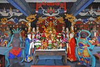 北京西山八大处地藏殿佛像