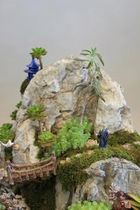 假山家园盆景