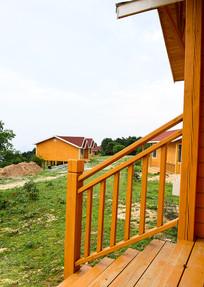 山顶风景房建筑群