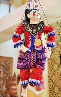 泰国手工艺品玩偶人