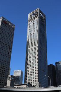 长安街上拍的高楼大厦