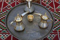 铜酒壶酒杯