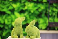 兔子绒球造型