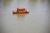 仿古小木船