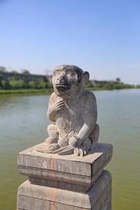 猴子石雕像