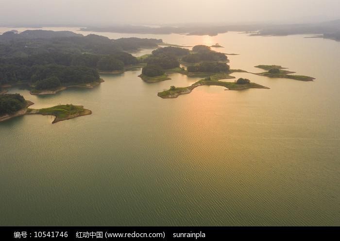 南湾湖上好风光图片