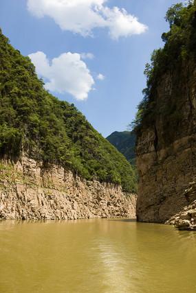 巫山神女溪峡谷溪流