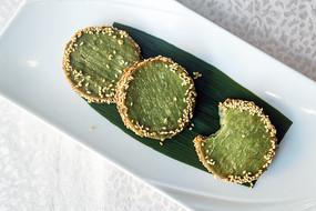 绿茶芋泥饼
