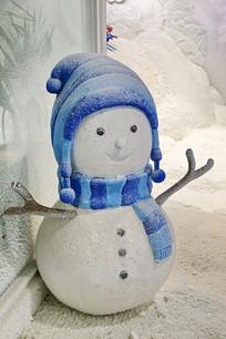 带帽子的小雪人