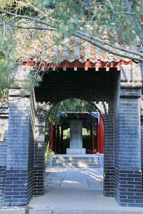 邯郸碑林大门