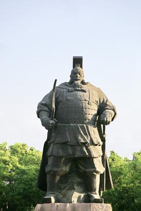 赵武灵王邯郸城市雕塑