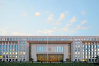 中华人民共和国商务部建筑外景