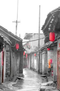 成都元通镇老街的川西民房