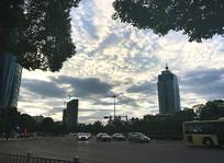 落日天空云彩