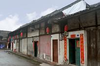 四川元通古镇的传统川西民居