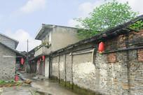 四川元通古镇老街的小街