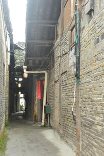 四川元通古镇老街的小巷子