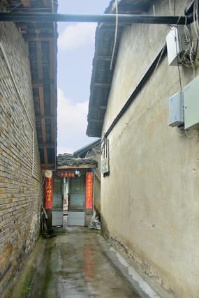 四川元通古镇老街街巷