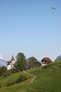 瑞士田园风光