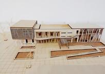 中式宅院建筑模型