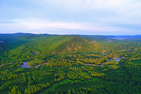 大兴安岭森林地理风光
