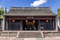中国浙江宁波慈城古县衙大堂