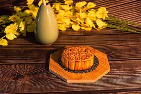 中秋节五仁月饼