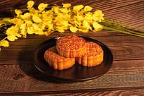 中秋月饼拼盘
