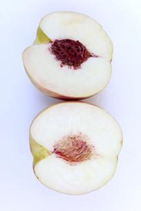 百花桃的果肉