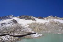阿坝达古雪山湖泊