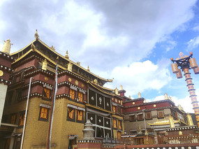 藏族寺庙建筑