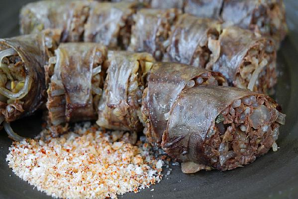 韩国料理中的传统美食香肠