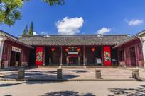 宁波慈城城隍庙硬山顶大门建筑