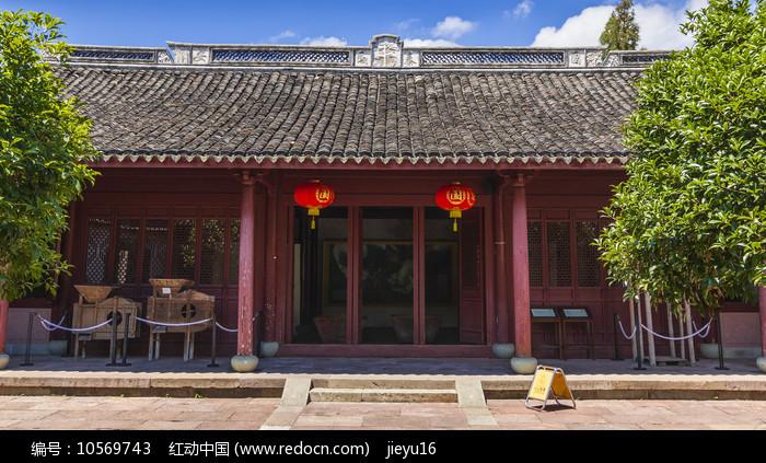 中国浙江宁波慈城火神庙建筑图片
