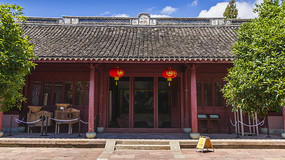 中国浙江宁波慈城火神庙建筑