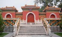 北京市北海公园西天梵境