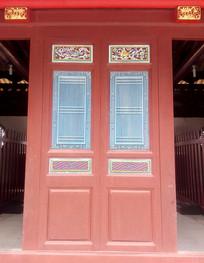 闽南建筑中式雕花彩窗
