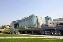 北京西站下沉广场